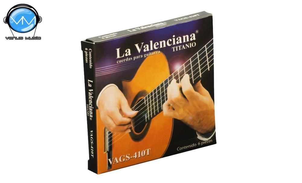 La Valenciana 410T Encordadura Guitarra Clásica 410533