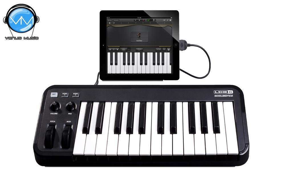 Line 6 Mobile Keys 25 MIDI Keyboard Controller 78568578