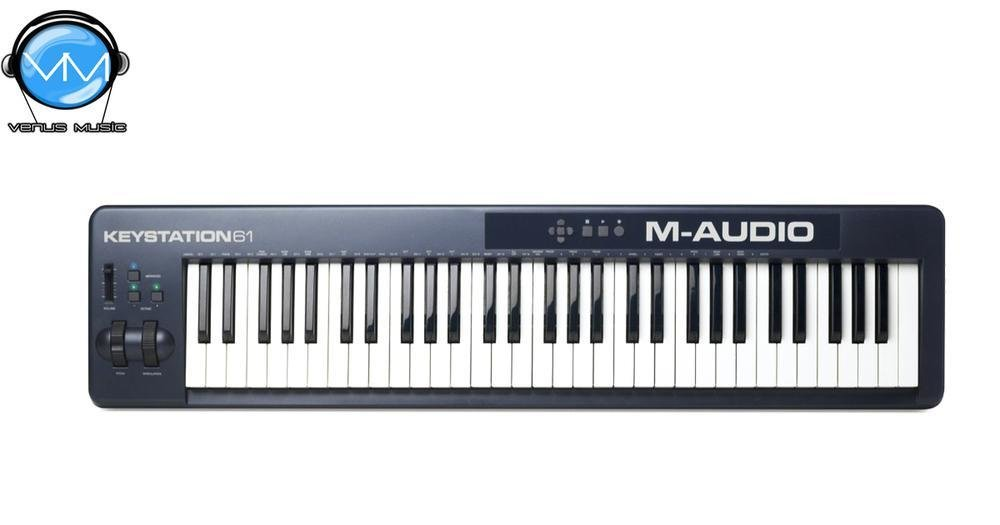 M-AUDIO CONTROLADOR KEYSTATION 61 TECLAS 7790900