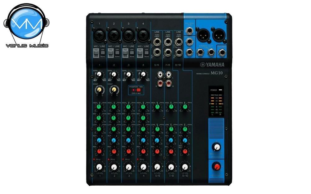 Mezcladora Yamaha de 10 canales MG10 6798978