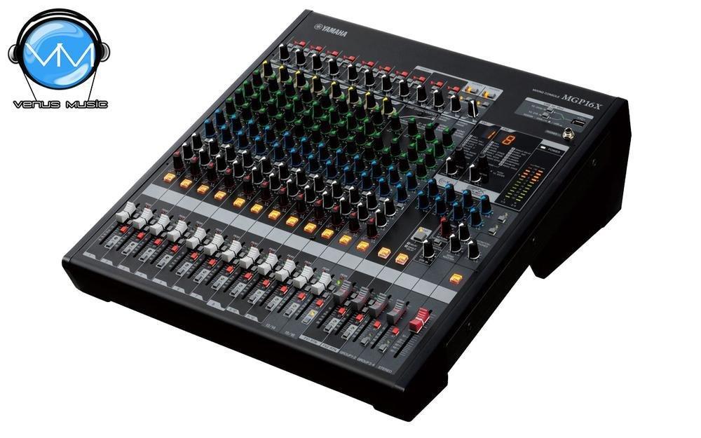 Mezcladora Yamaha de 16 canales con efectos digitales y conexión USB MGP16X 43242323