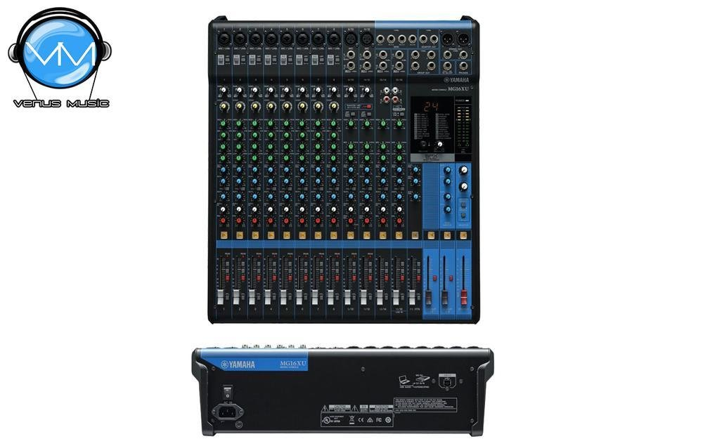 Mezcladora Yamaha de 16 canales con FX y conexión USB MG16XU 43203111
