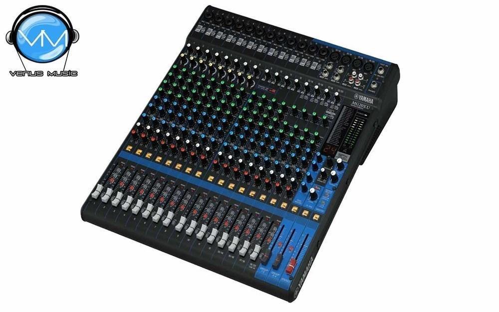 Mezcladora Yamaha de 20 canales con FX y conexión USB MG20XU 9875932