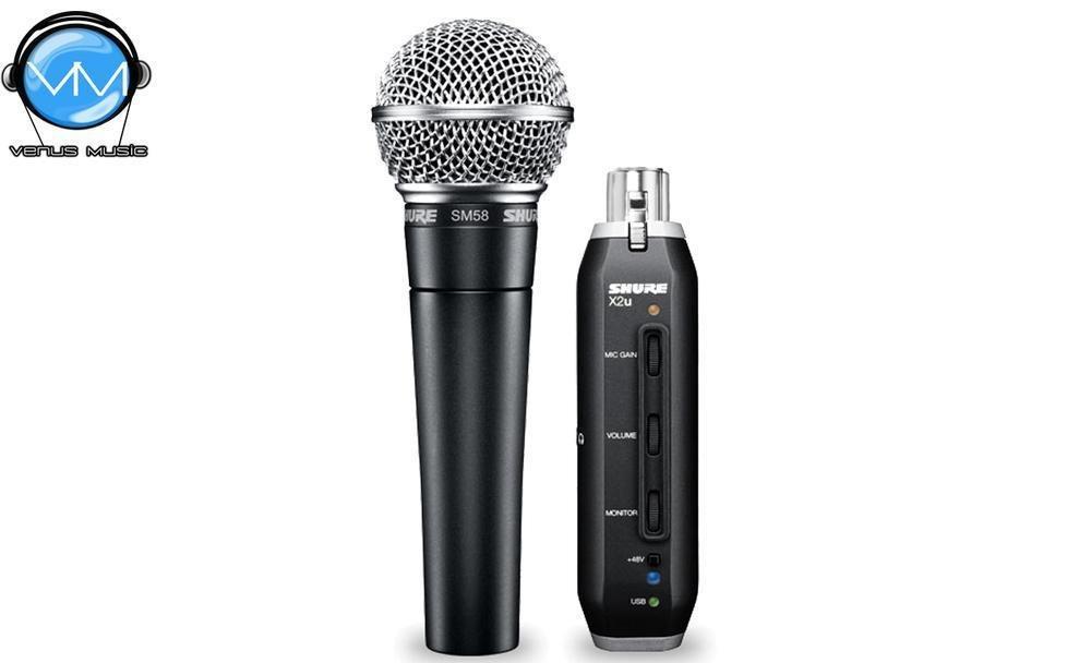 Micrófono Shure para instrumentos SM58-X2U