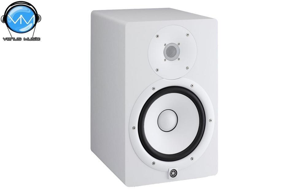 "Monitor Yamaha Biamplificado para estudio (120w - LF 75w 8"" - HF 45w - 38 HZ - 30 KHz) blanco HS8W 656798"
