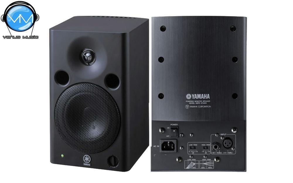 "Monitor Yamaha Biamplificado para estudio (67w - LF 40w 5"" - HF 27w - 50 Hz - 40 KHz) MSP5 STUDIO 98863"