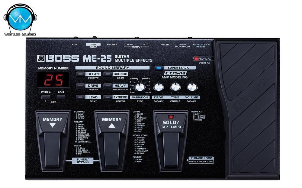Multiefectos Boss ME-25 para Guitarra 5329802