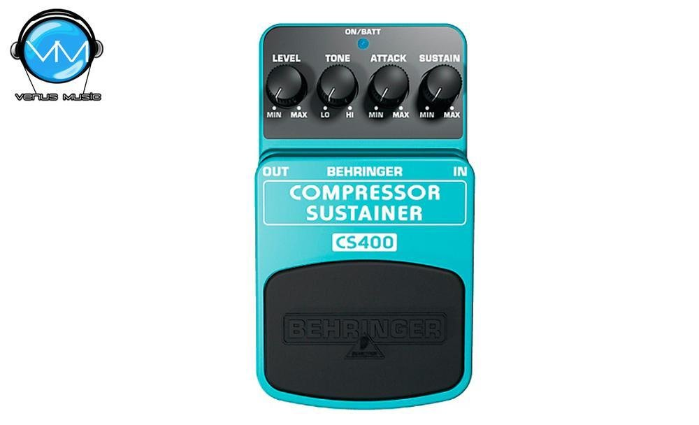 PEDAL BEHRINGER CS400 COMPRESSOR/SUSTAINER 96546