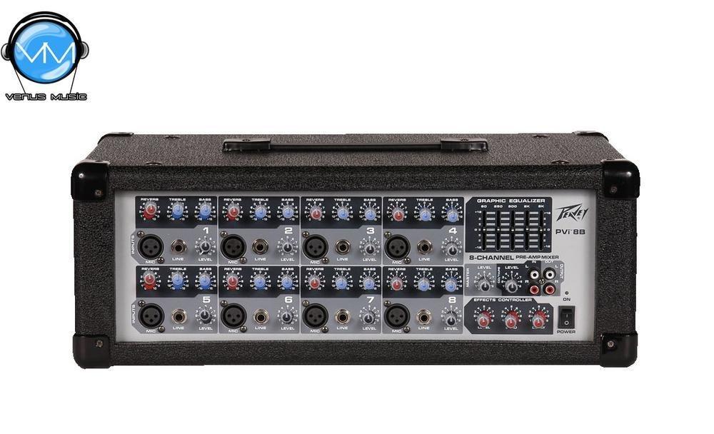 PVI 8B Mezcladora 8 canales Peavey 8884504