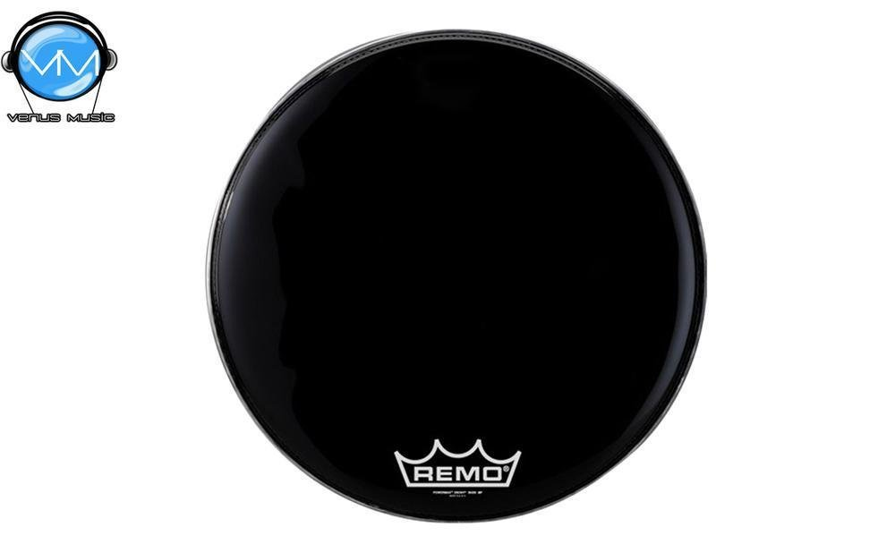 Remo PM-1422-MP Powermax Parche Ebony 22