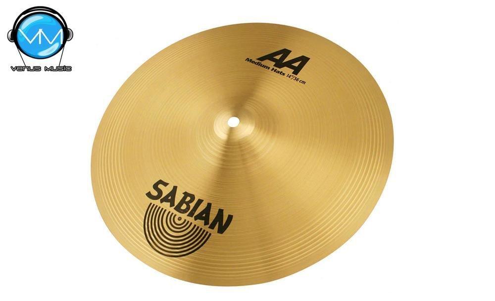 Sabian 21402B AA Platillo Medium Hats 14 954305