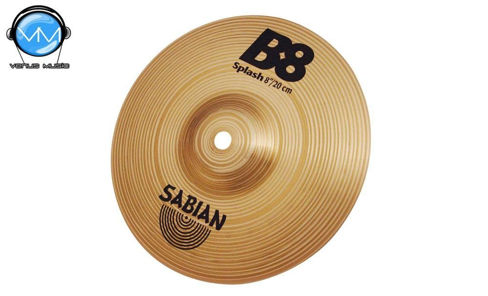 Sabian 40805 B8 Platillo Splash 8 832943