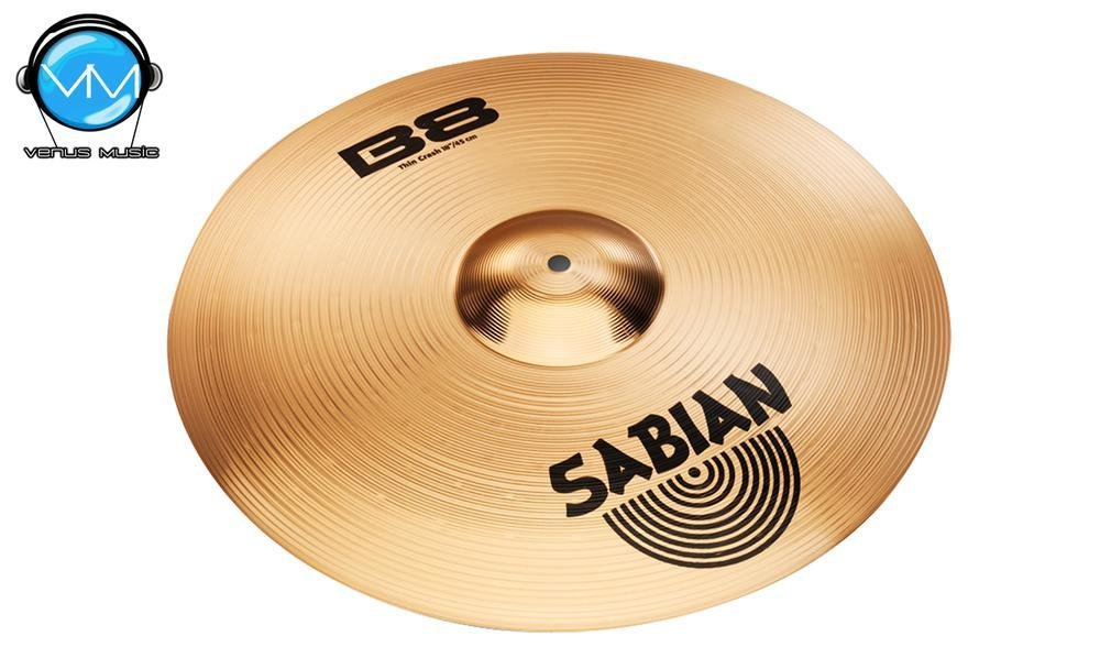 Sabian 41406 B8 Platillo Thin Crash 14 14985