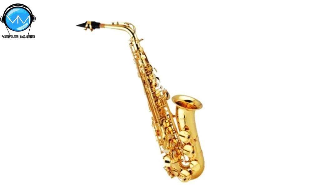 Saxofón Alto Mercury Laqueado con Estuche JBAS-200L 2004