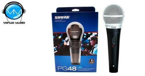 Shure PG48 Micrófono Cardioide Dinámico para Voces 750780