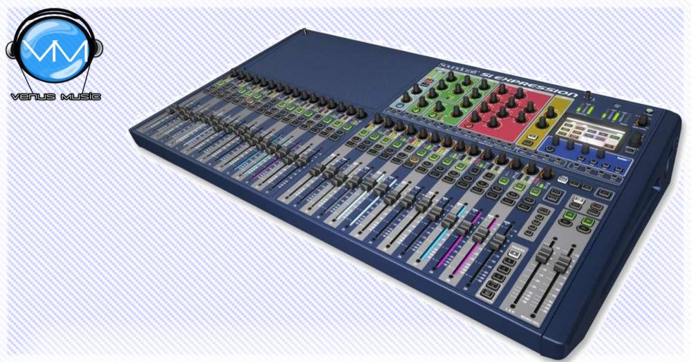 SOUNDCRAFT SI EXPRESSION 3 CONSOLA DIGITAL DE 32 CANALES 8898889