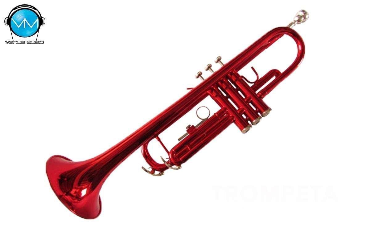 Trompeta Bb Klingt Roja con estuche 983204523