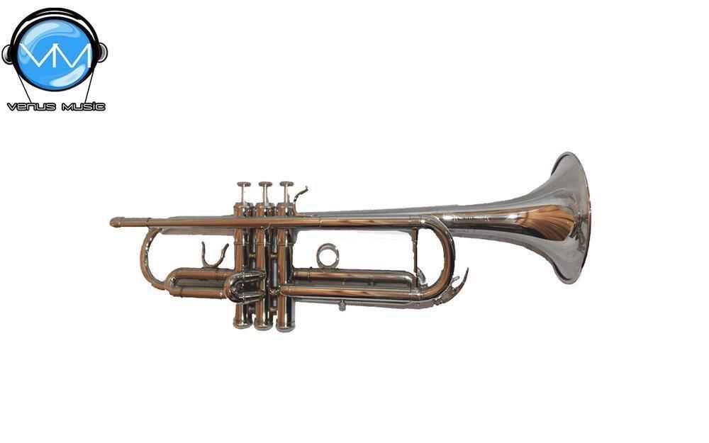 Trompeta Infinity Niquelada con grabado
