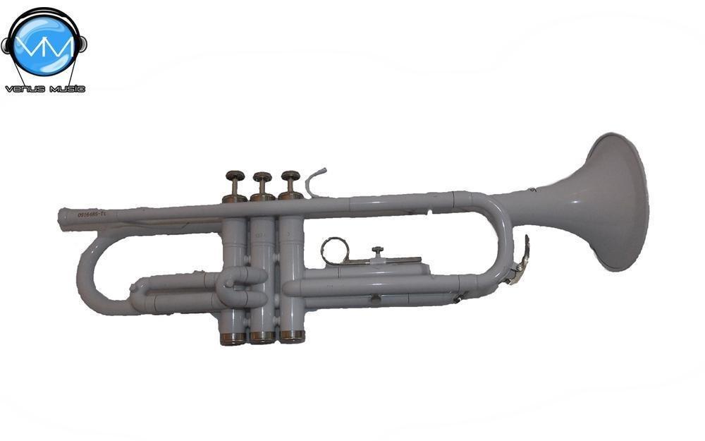 Trompeta Silvertone Blanca