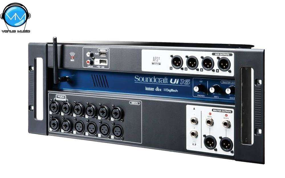 UI-16 SOUNDCRAFT CONSOLA DIGITAL 16 CANALES FORMATO STAGE BOX 89301928301
