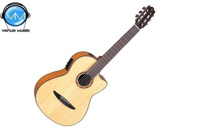 Guitarra Electroacústica Yamaha NCX900FM Fondo de Maple Flameado
