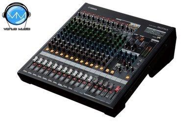Mezcladora Yamaha de 16 canales con efectos digitales y conexión USB MGP16X