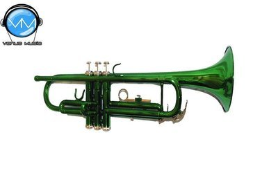 Trompeta Silvertone Verde