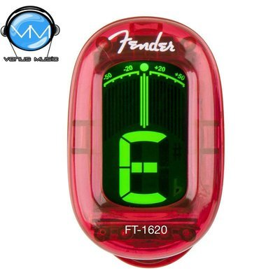 AFINADOR FENDER CROMÁTICO FT1620 CALIFORNIA ROJO