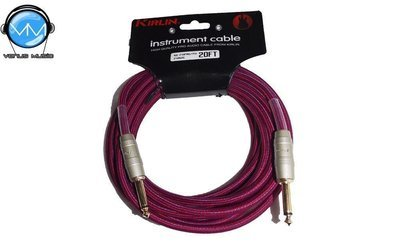 Cable para Instrumento Kirlin IW-241PRG/PU 20FT
