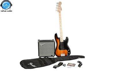 Paquete Squier Affinity Precision Bass y amplificador Rumble 15