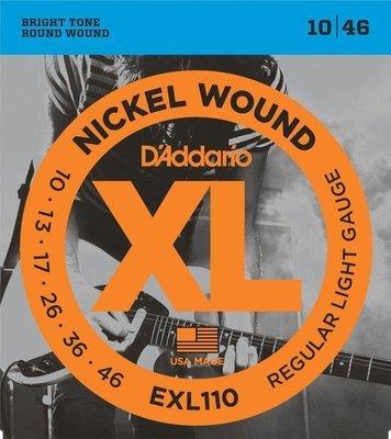 ENCORDADURA DADDARIO EXL110