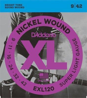 ENCORDADURA DADDARIO EXL120