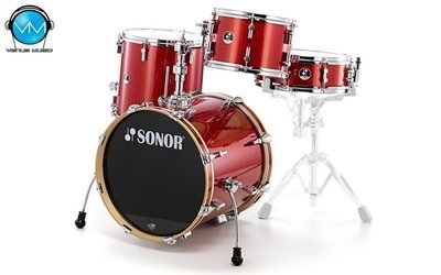 BATERIA SONOR SSE 12 BOP Red Galaxy Sparkle