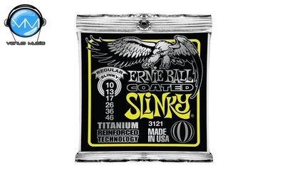 Ernie Ball 3121 Slinky Encordadura Guit. Eléctrica Reg. Coated