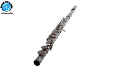 Flauta Transversal Mercury Niquelada con Estuche JBFL-6248N