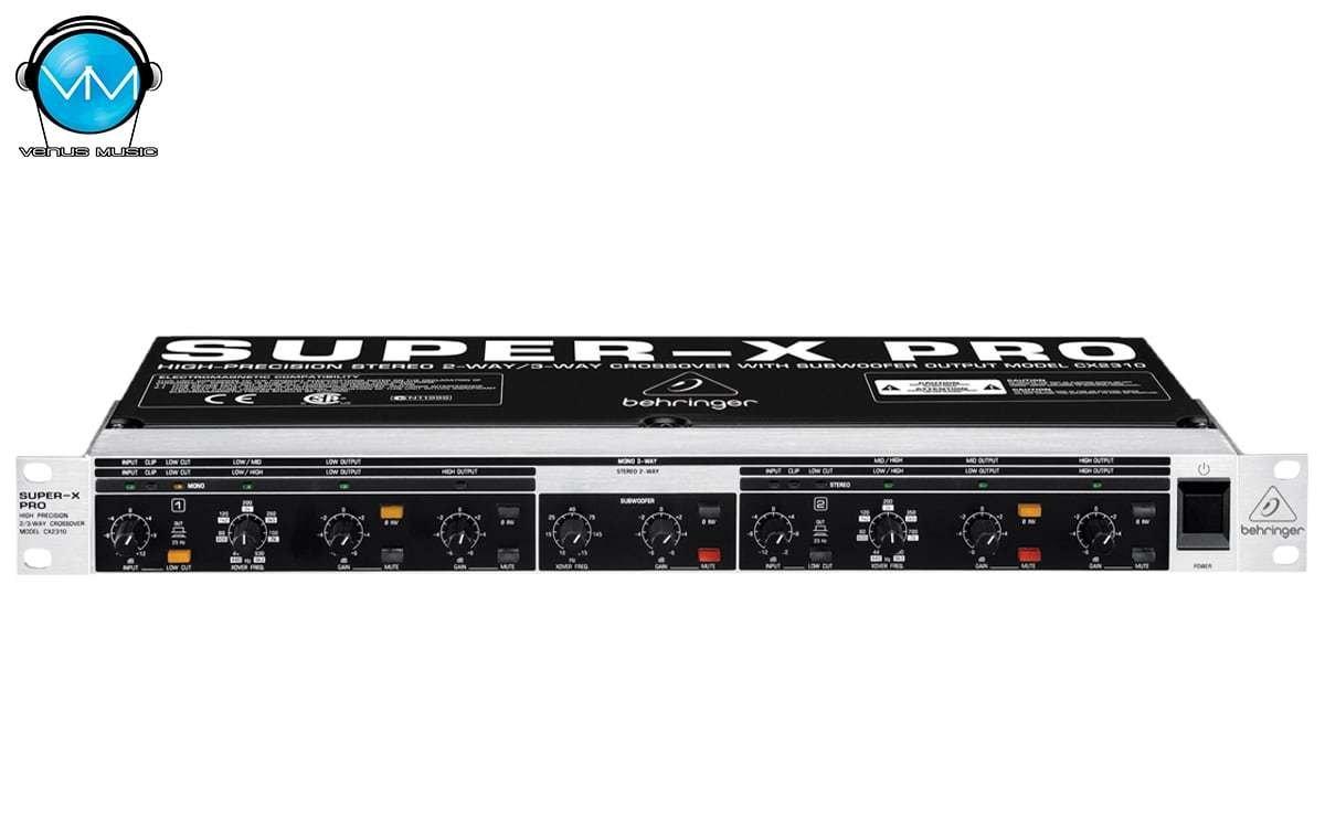 Crossover Electrónico Behringer CX2310 490283042