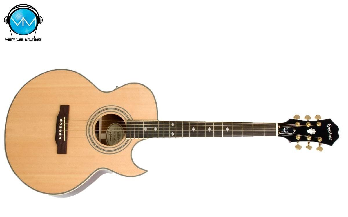 Guitarra Electroacústica Epiphone PR5E Natural 5439858394