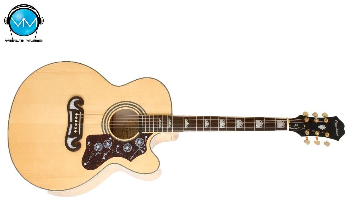 Guitarra Electroacústica Epiphone EJ200CE Natural 435202395