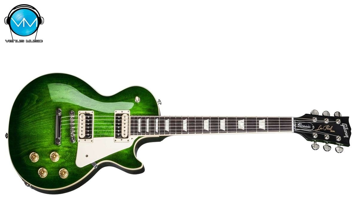 Guitarra Eléctrica Gibson Les Paul Classic T 2017 Traditional Green Ocean 74983204