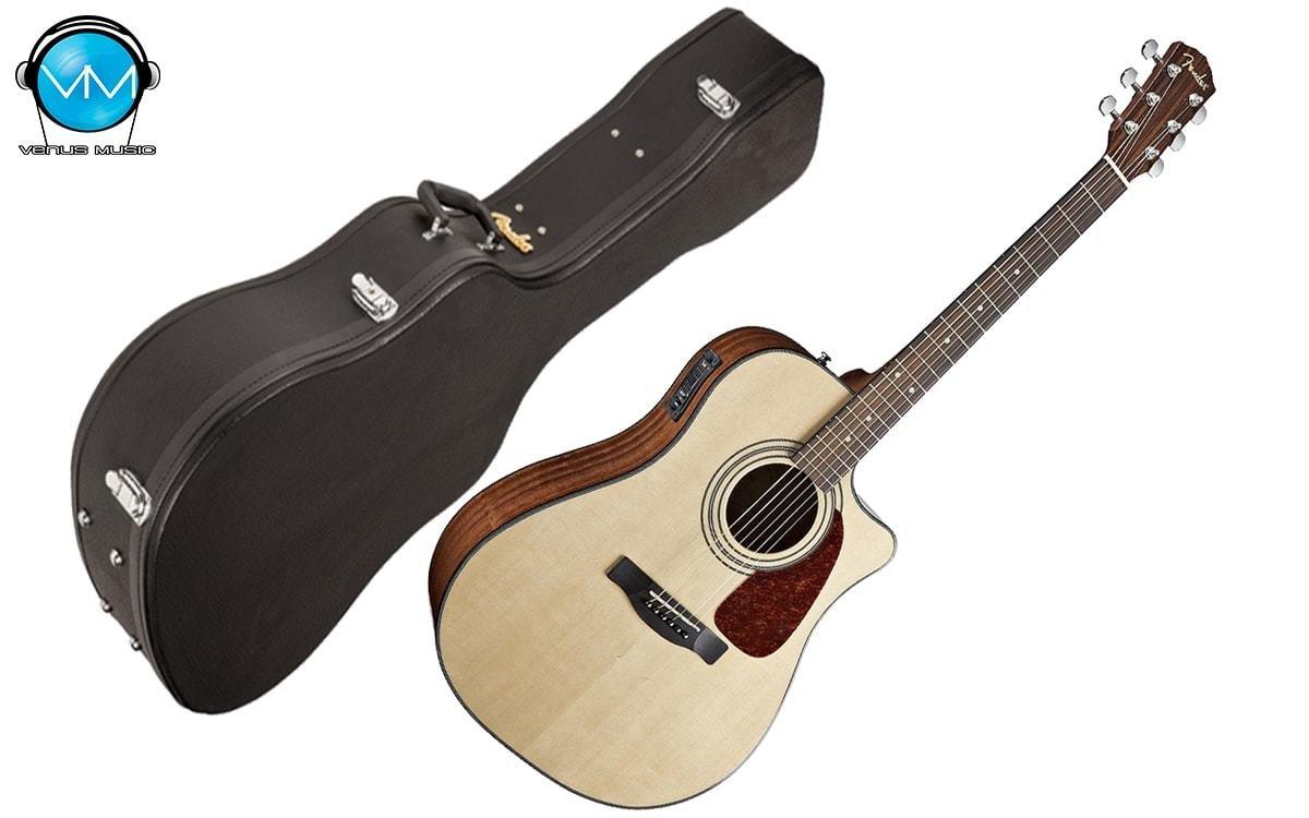 Guitarra electroacústica Fender CD140SCE NATURAL con Estuche 3294702332