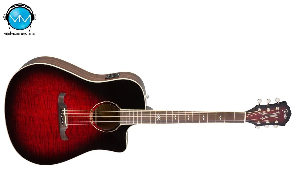 Guitarra Electroacústica Fender T-Bucket 300CE Red 32423423523