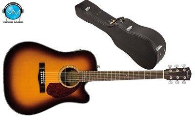 Guitarra electroacústica Fender CD140SCE SUNBURST con Estuche