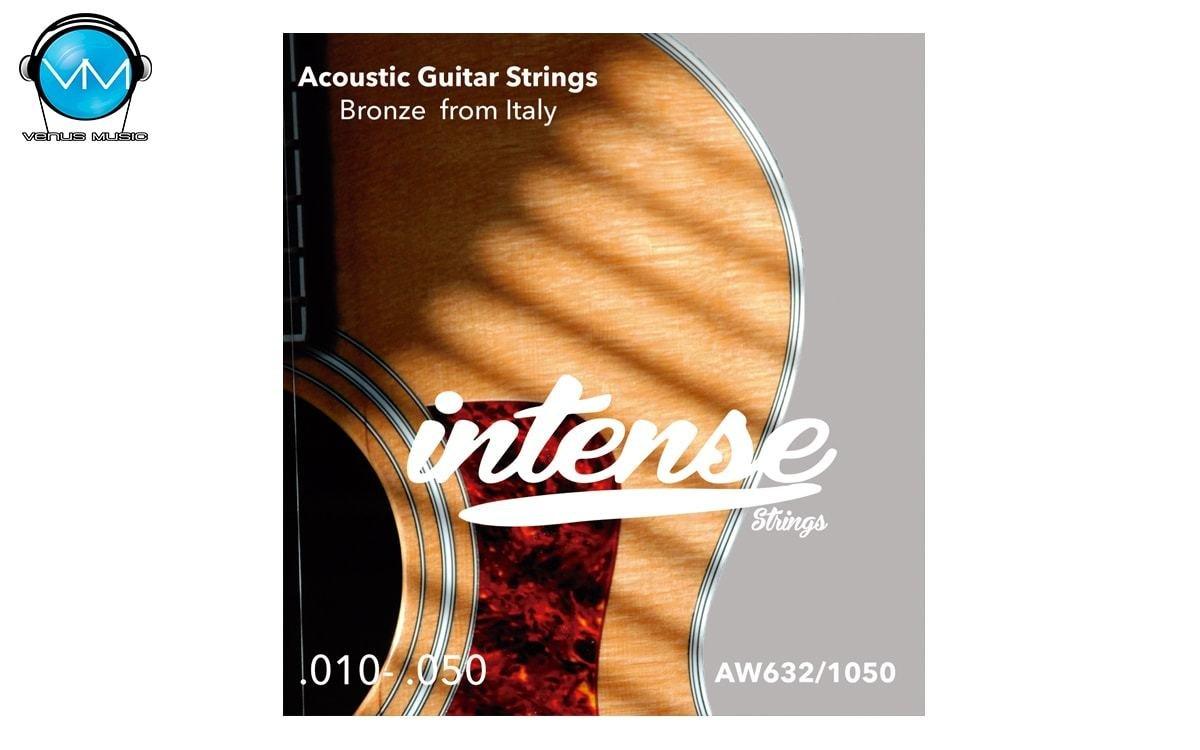 Encordadura Intense Strings Acoustic Guitar Bronze AW632 93750323