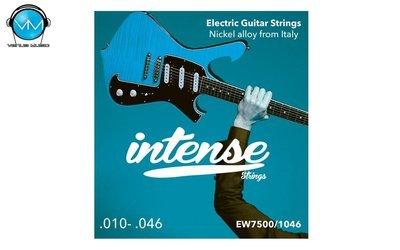 Encordadura Intense Strings Electric Guitar Nickel EW7500