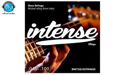 Encordadura Intense Strings Electric Bass 4 Strings BW730