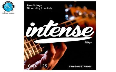 Encordadura Intense Strings Electric Bass 5 Strings BW830