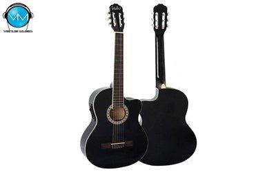 Guitarra Electroacústica Studio G Cutway Negra 39