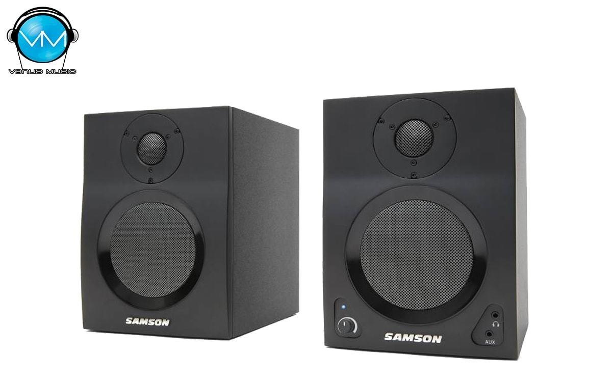 "Monitores Activos Samson MediaOne BT4 Studio 4"" 21489012"