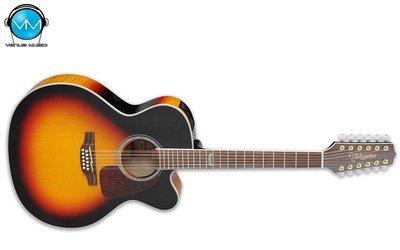 Guitarra Electroacústica Takamine 12 Cuerdas GJ72CE12BSB