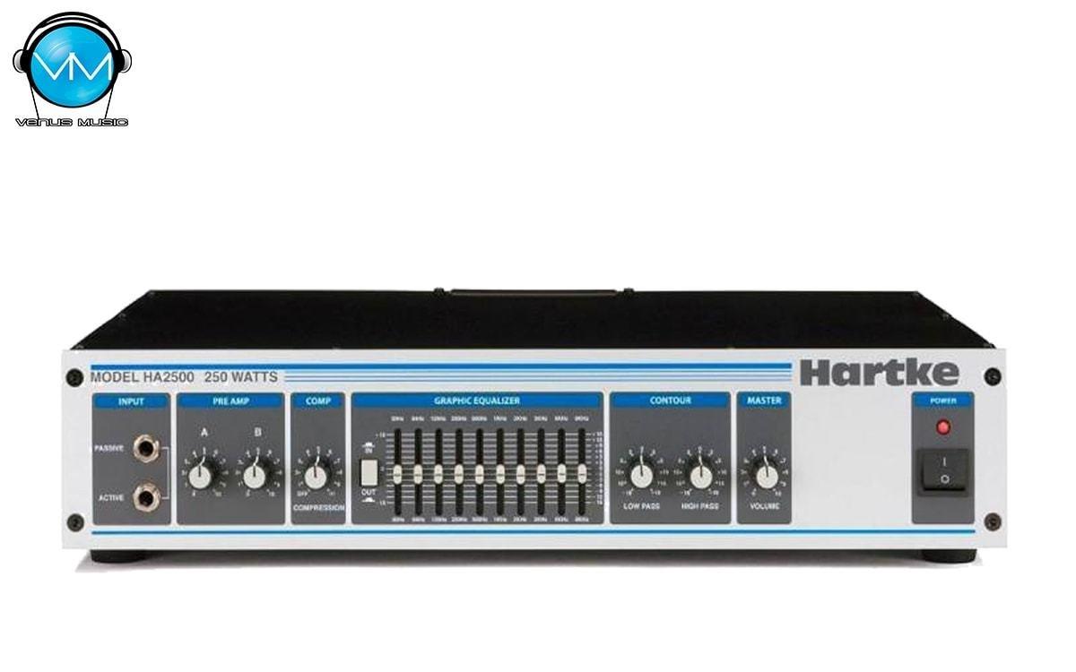 Amplificador Hartke HA2500 Estereo 250W 4 Omhs 180W 8S 539080534